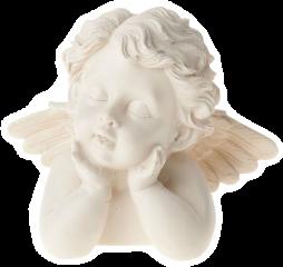 statue angels cherubs art aesthetic freetoedit
