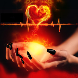 sd_challenge mycreativity heartonfire magic witch freetoedit