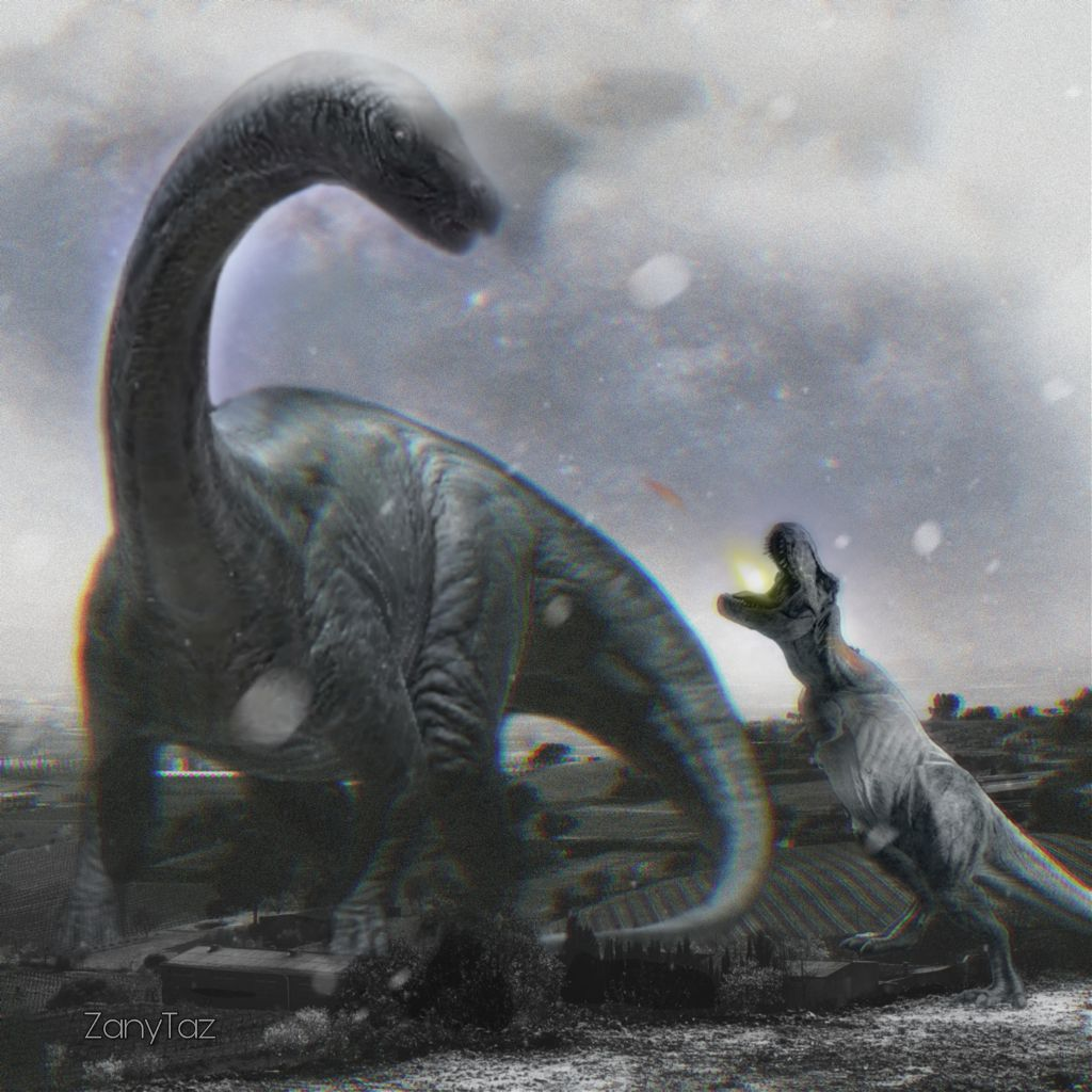 Happy Sunday all!! This is a #vipshoutout to @e6va 👉Check out this person's gallery and show some love. Thank you. #landscape #photograph used for #photomanipulation #dinosaurs #freetoedit