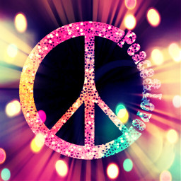 freetoedit glitter sparkle peace love