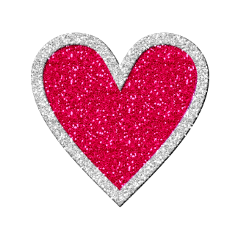 heart glitter freetoedit