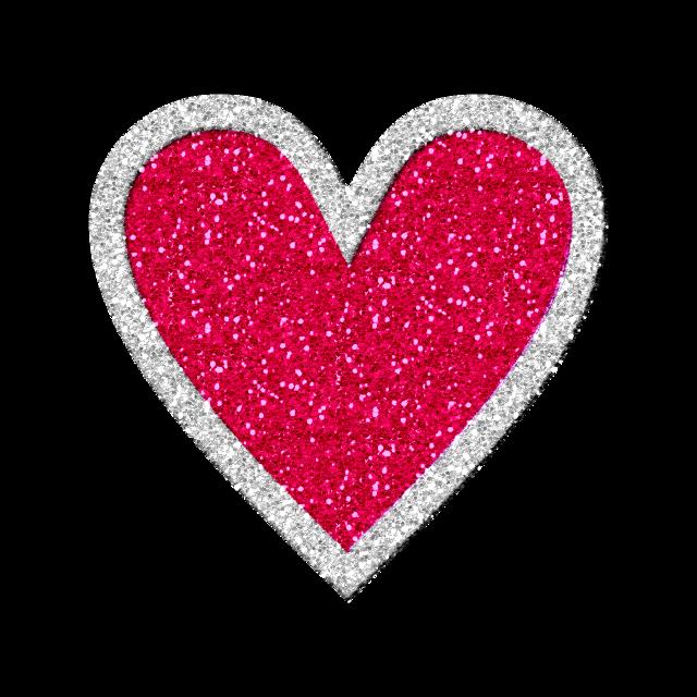 #heart #glitter