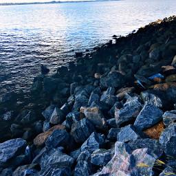 freetoedit cool nature rocks water