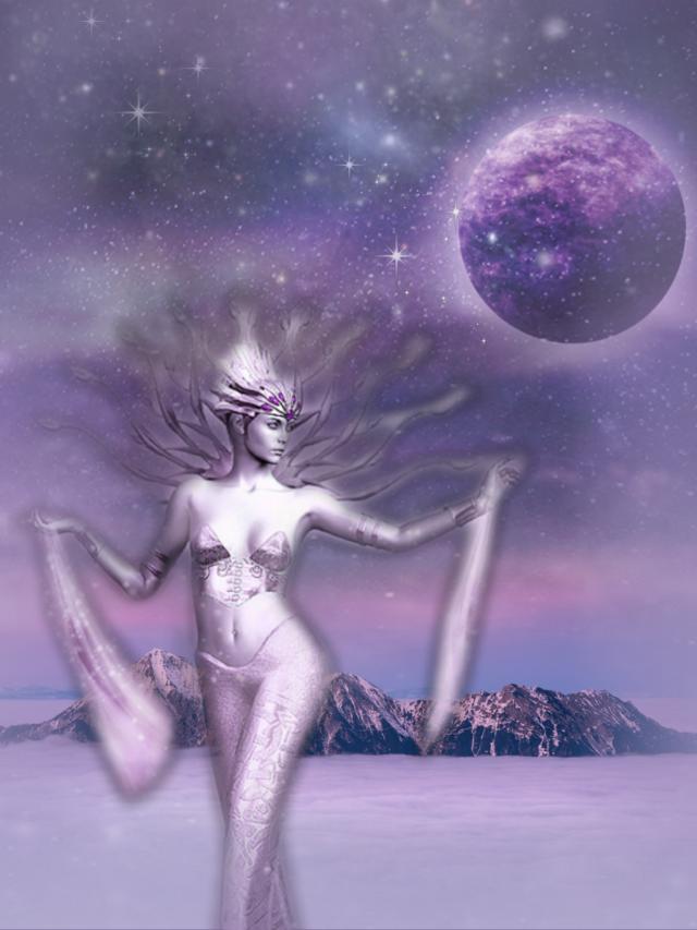 #freetoedit #fantasyart #woman #goddess #nightsky #moonlight #dreamy #surreal #surrealistic #alternateuniverse #stickers #blending #vignetteeffect #adjusttools #editstepbystep #myedit #madewithpicsart