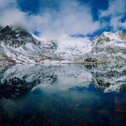 nature snow mountains photography travel freetoedit pcsnowyslopes snowyslopes