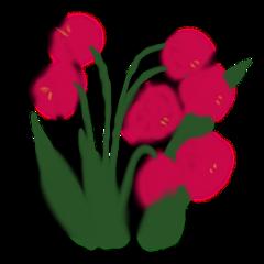 ftestickers watercolor painting flowers roses freetoedit