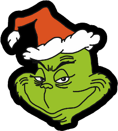 santahat grinch grinchchristmas christmas green freetoedit