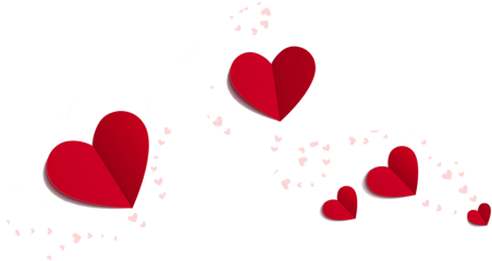 freetoedit red hearts