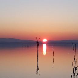 myclick myoriginalphoto sunset skyred sky