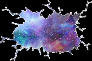 hole galaxy sticker galaxyhole freetoedit