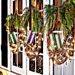 freetoedit wreaths lights buildings decor ircmodernarchitecture modernarchitecture