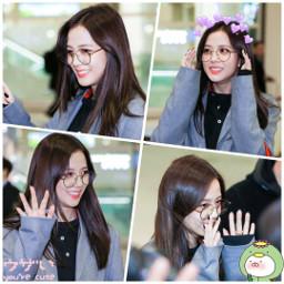 airport jisoo blackpink freetoedit queen
