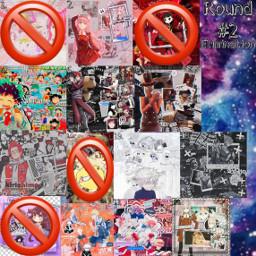 2 space elimination anime contest freetoedit