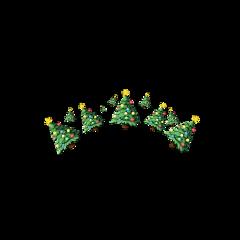 christmas christmastree tree wreath christmascrown freetoedit scchristmaslights