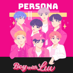 freetoedit bts boywithluv persona pink