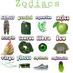 zodiacs green freetoedit