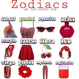 zodiacs red freetoedit