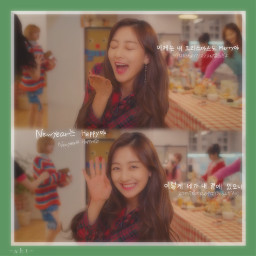 twice jihyo christmas
