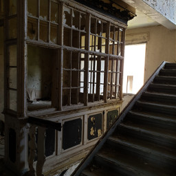 freetoedit lostplace abandoned architecture stairs