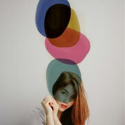 freetoedit grl portrait wallpaper colors