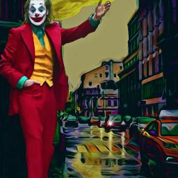 freetoedit joker city mystical street