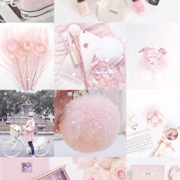 pink gold aesthetic