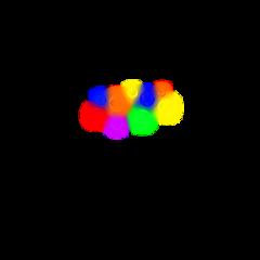cute hearts crown circle colorful freetoedit