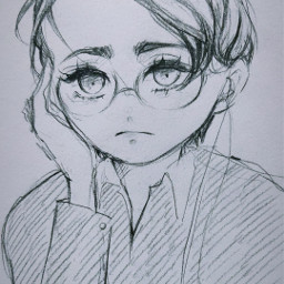 anime drawing art sketch