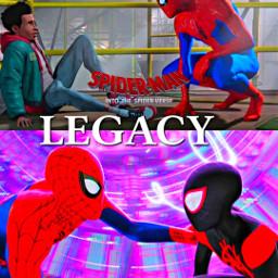 spidermanintothespiderverse spiderverse spiderman legacy hdr freetoedit