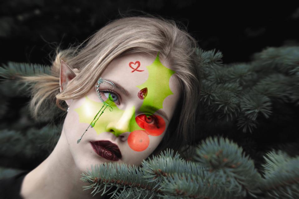 #freetoedit #xmas #chrirtmas #elf #edit #red #green I made this for christmast ı hope u will like it :3