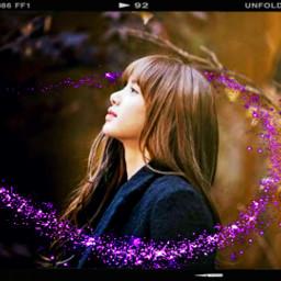 freetoedit aesthetic blackpink lisa srcpurplesparkles purplesparkles