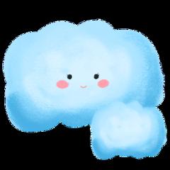 ftestickers cartoon clouds aesthetic cute freetoedit