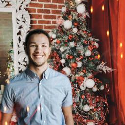freetoedit madewithpicsart christmas present christmastree