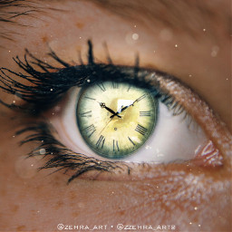 eye eyes hourglass clock amber freetoedit ircmagiceye