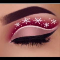 merryxmas makeup christmasmakeup freetoedit