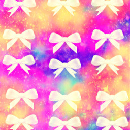 freetoedit glitter sparkle galaxy bows