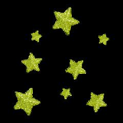 glitter stars freetoedit