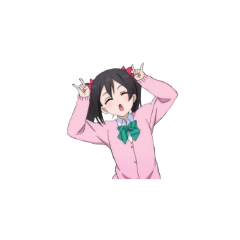 lovelive cute messy anime niconii
