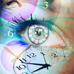 freetoedit eye blue remix clocks ircmagiceye magiceye