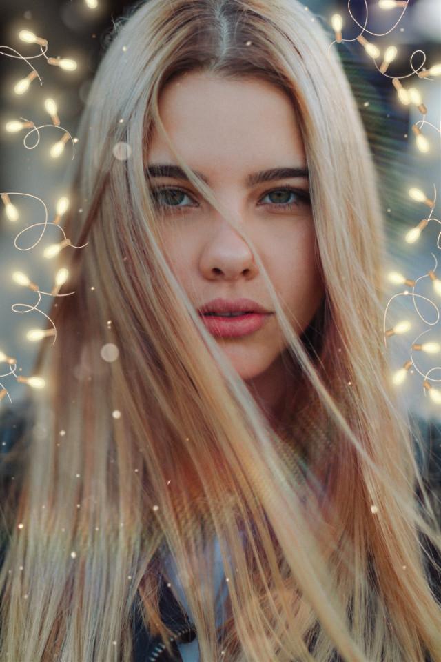 #freetoedit #interesting #blonde #christmas #happyjiminday