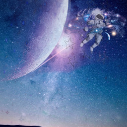 space galaxy freetoedit
