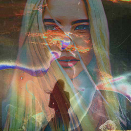 freetoedit remix overexposure portrait colorplay