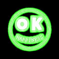 freetoedit smile neon green happiness