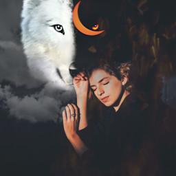 freetoedit wolf moon