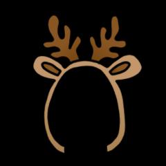 freetoedit hat christmas reindeer santahat ftestickers