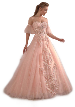 prom dress pink formal gown freetoedit
