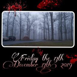 freetoedit fridaythe13th fogg blood jason scary
