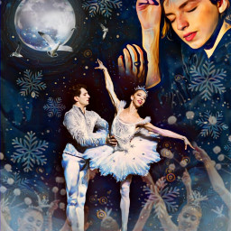 nutcracker dreams ballet clouds magical freetoedit ircharmonious harmonious