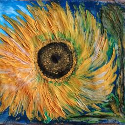 pintura painting paintingacrilic pinturaenacrilico pinturagirasol