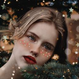 freetoedit christmas makeup challenge edit ecchristmasmakeup christmasmakeup